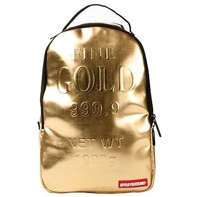 Sprayground Unisex Mini Gold Bricks Backpack Assorted