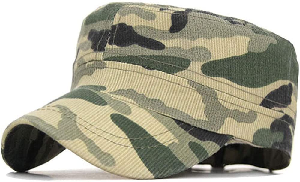 MIBQM Unisexo Sombreros Militares de Camuflaje de Camuflaje táctico para Hombres, Gorra Plana para Equipo, Gorras de béisbol Masculinas, Casquette Militar, Hueso, Deporte, papá, Sombrero Masculino