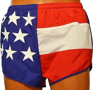 product image for Soark Mens Nonsplit Flag Running Shorts