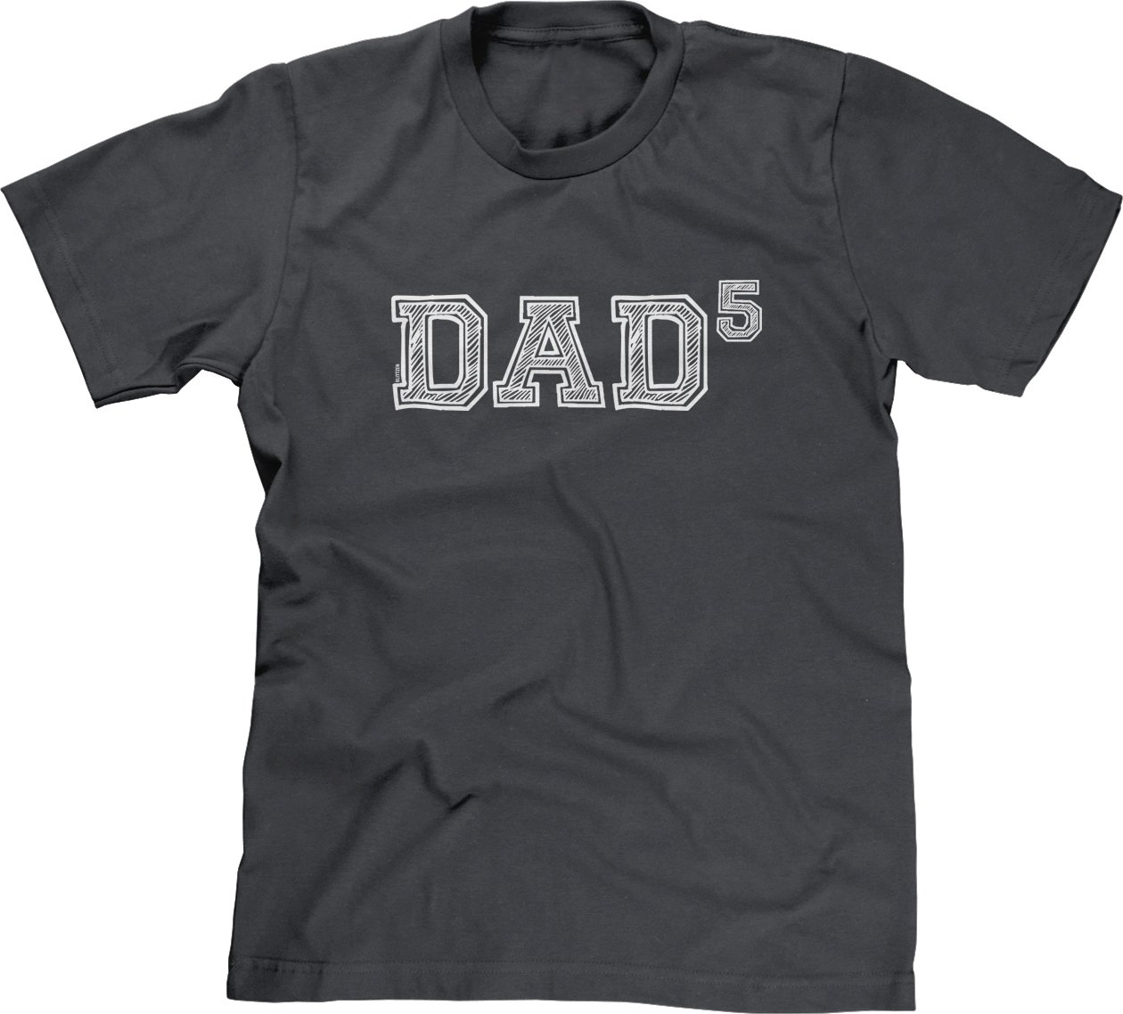 S T Shirt Dad Of 5 To The Fifth Power 4365