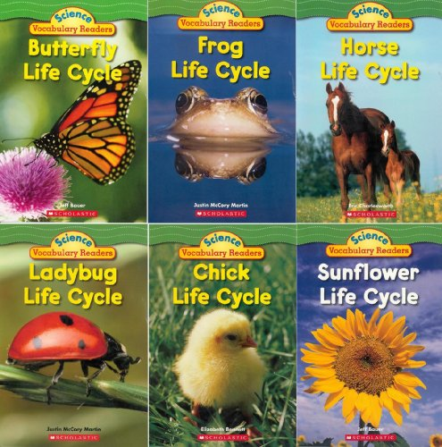 Science Vocabulary Readers Set: Life Cycles: Exciting Nonfiction Books That Build Kids' Vocabularies (Scholastic Science Vocabulary Readers) by Elizabeth Bennett (2013-05-03)