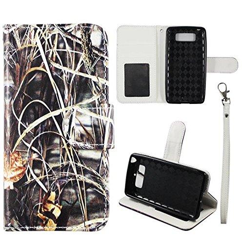 huge selection of d9005 68bfd Amazon.com: XT1030 Wallet Case Camo Grass For Motorola Droid Mini ...