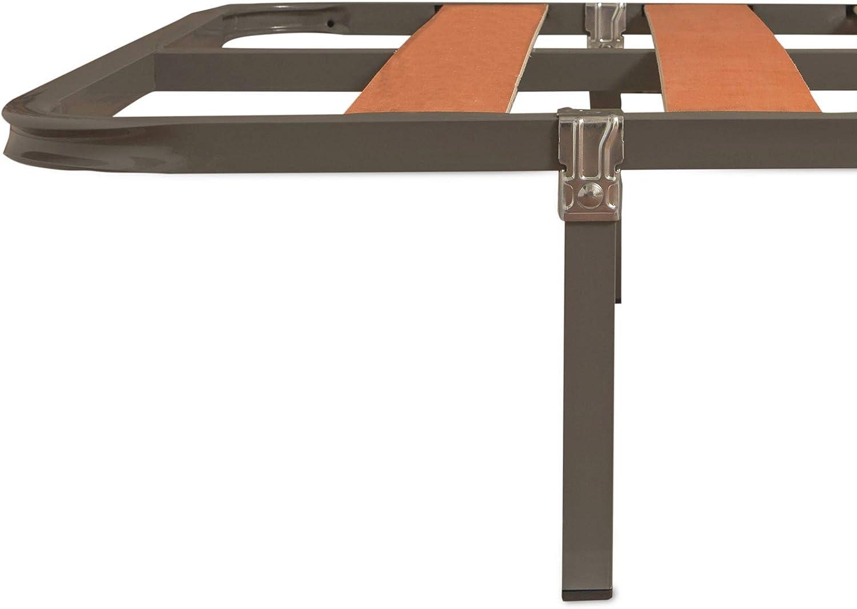 MUEBLIX.COM Somier Eco para Cama 90 x 180 cm | Somier con 4 ...
