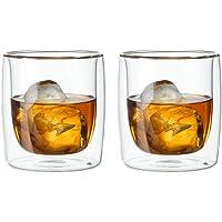 Zwilling Sorrento Çift Camlı 2'li Viski Bardağı, 266 ml, Cam, Şeffaf Cam