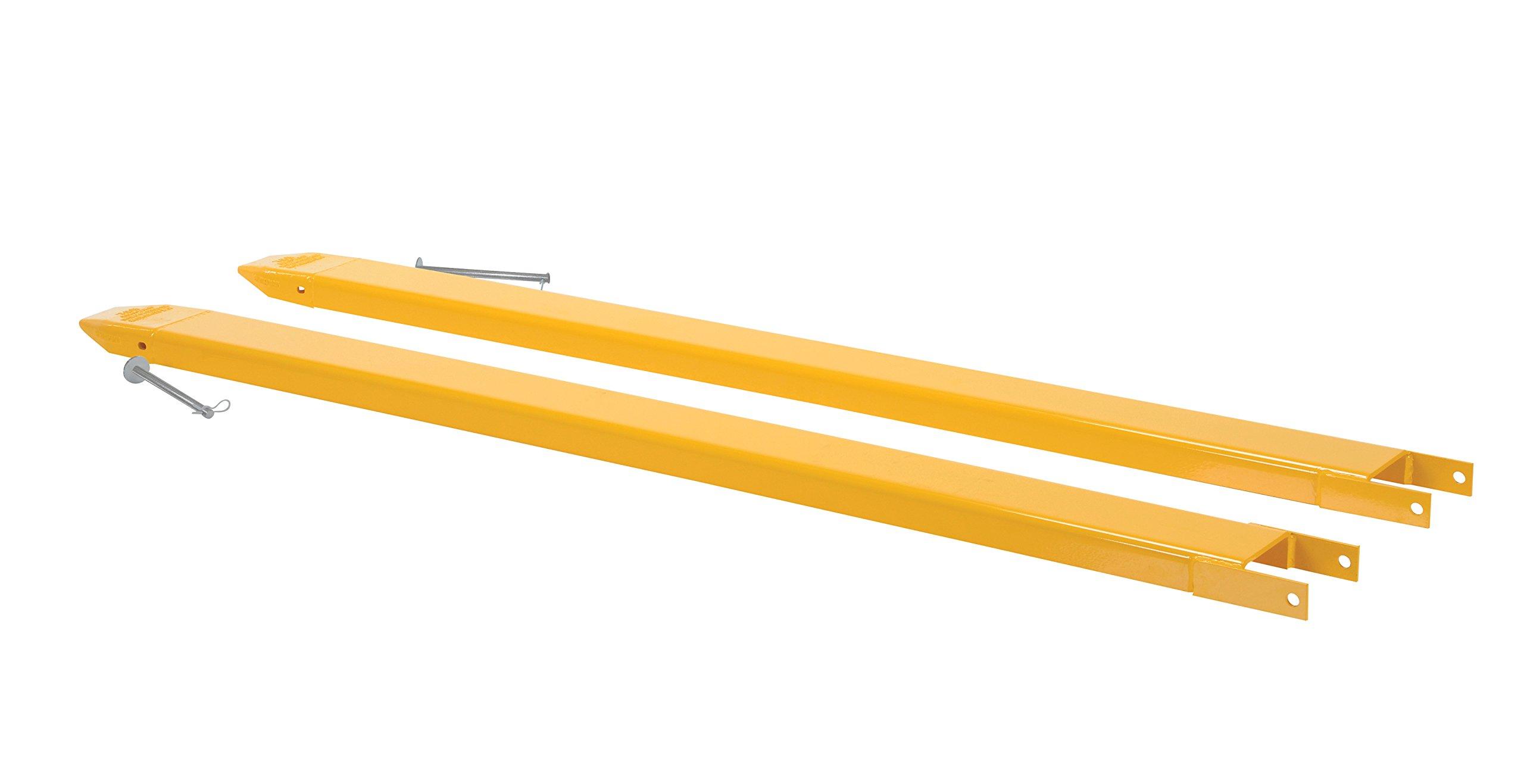 Vestil FORK EXTENSIONS PIN STYLE 84L X 5W IN (FE-5-84-P)
