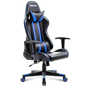 Amazoncom Merax Racing Gaming High Back Chair Computer Ergonomic