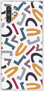 كفر  حماية  جراب غطاء  مرن  وشفاف   متوافق مع سامسونج جالكسي نوت 10 بلس - متعدد الألوان -  بواسطة اوكتيك