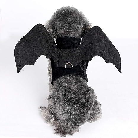 JOYIYUANo todos los días Tire Negro Bat arnés del Perro con el ...