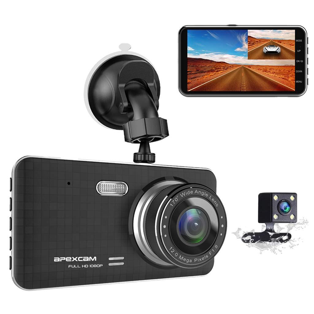 "Contain 32GB SD Card,Full HD 1080P Dash Camera for Cars,3/"" IPS Screen Wide-Angle Lens Car Camera,G-Sensor ,Loop Recording,Parking Monitoring. 2019 Star Version Dash Cam Car Dashboard Camera"