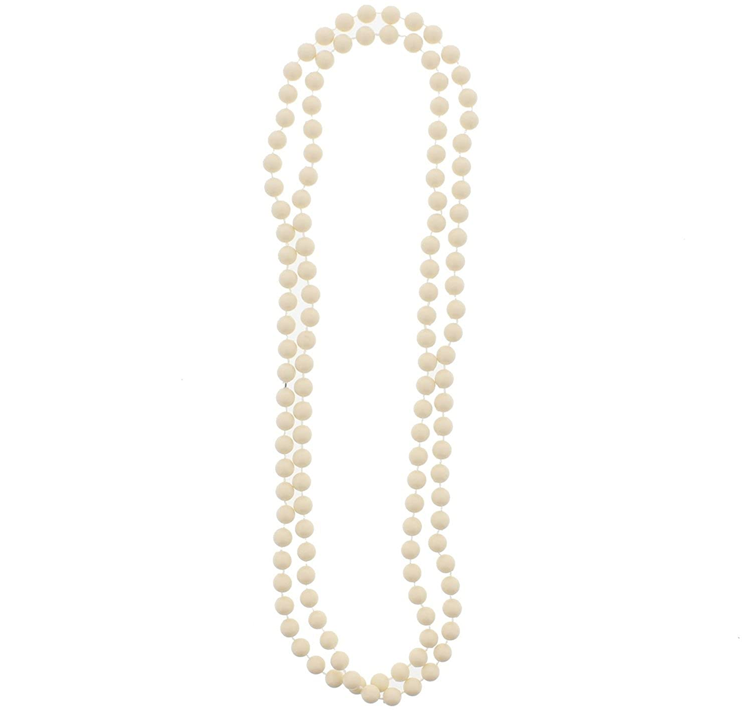 Zac/'s Alter Ego 24 Inch Girls Baby Pink Plastic Pearl Necklace Jewellery