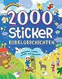 2000 Sticker - Bibelgeschichten: Spannend, knifflig, kreativ und himmlisch