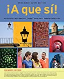 img - for A que si!, Enhanced (with iLrn  Advance Printed Access Card) (World Languages) book / textbook / text book