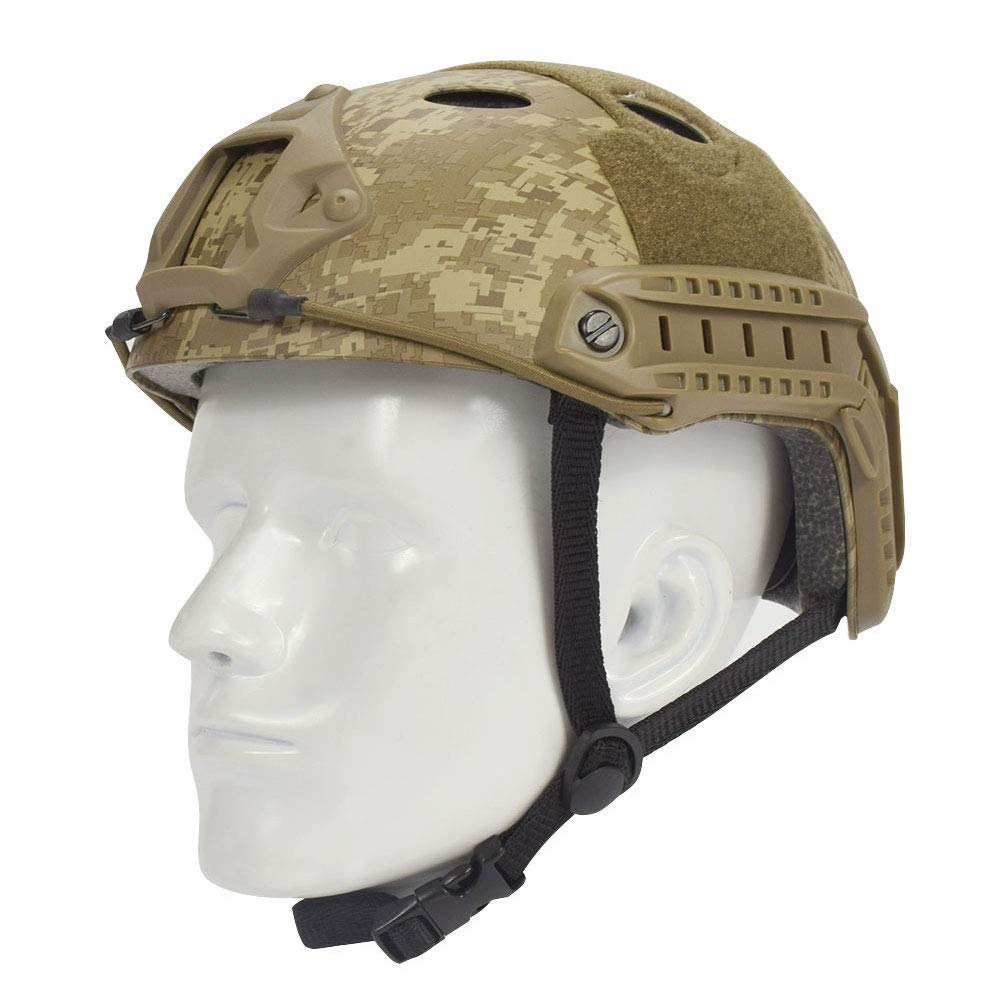 EMERSONGEAR PJ Type Fast Helmet Tactical Protective Helmet for Airsoft Paintball Hunting Cycling Motorcycle DD by EMERSONGEAR