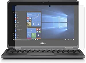 """PcProfessional Screen Protector (Set of 2) for Dell Latitude Chromebook 3189 Education 2-in-1 3000 Series 11.6"""" Laptop High Clarity Anti Scratch Filter Radiation+ Microfiber Cloth"""