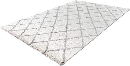 poils longs design tapis salon