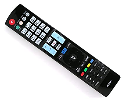 REMOTE CONTROL FOR LG TV LCD PLASMA LED - 3D BUTTON - WITHOUT SETUP