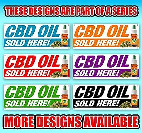 CBD Cat Treats 13 oz Banner Heavy-Duty Vinyl Single-Sided with Metal Grommets