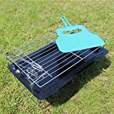 Coosa Portable Barbecue Grill Portable Charcoal Barbecue Table Camping Outdoor Garden Grill BBQ Utensil