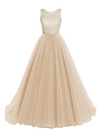 b29a9229d67 KekeHouse Longue Robe de Soirée Bal Cérémonie Fille Enfant Femme Mariage  Fête En A