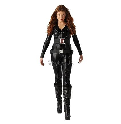 Amazon.com: Reino Unido 12 – 14 Ladies Black Widow disfraz ...