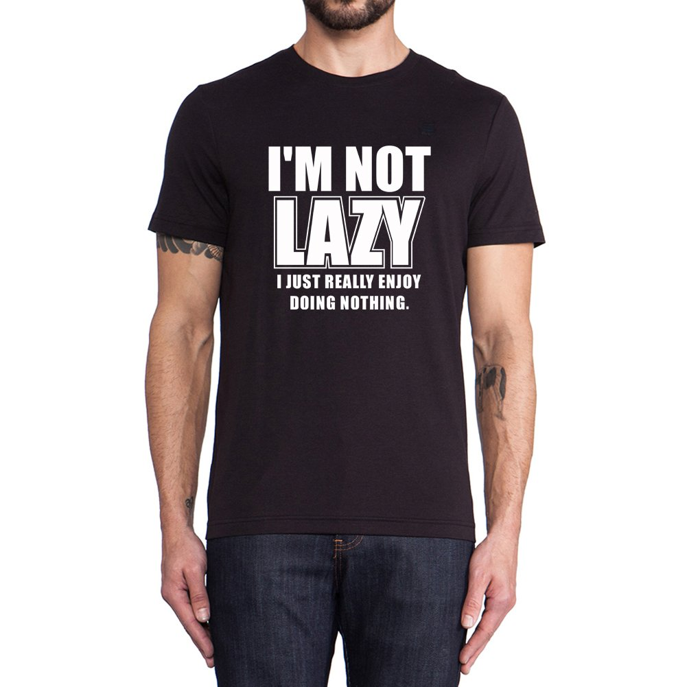 Loo Show I Am Not Lazy Funny T Shirts Summer Tee
