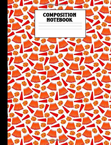 Composition Notebook: Cheerleading College Ruled Lined Comp Book por Corner Press, Athlete's