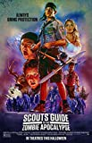 Decor Moyers Scouts Guide To The Zombie Apocalypse (2015) Vintage Movie Poster 24X36 Inch 01