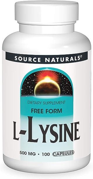 L-Lysine 500 mg - 100 cápsulas