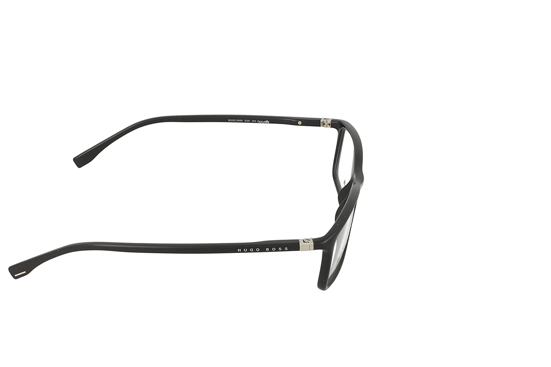 6a58d95fff Amazon.com  Hugo Boss eyeglasses BOSS 0680 D28 Optyl Black  Clothing