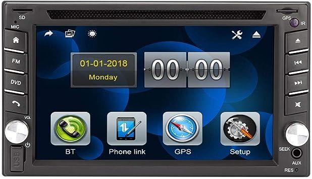 Eunavi Universal Car Dvd Radio Player Double 2 Din Car Elektronik