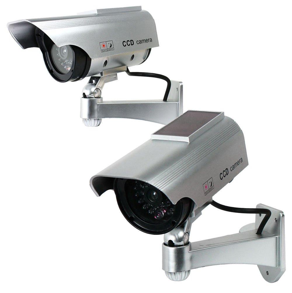品揃え豊富で セットの2ソーラー電源フェイクダミーセキュリティ監視カメラCCTV B074LKTQ66 &レコードライト B074LKTQ66, ムカイシマチョウ:8bf34170 --- trainersnit-com.access.secure-ssl-servers.info