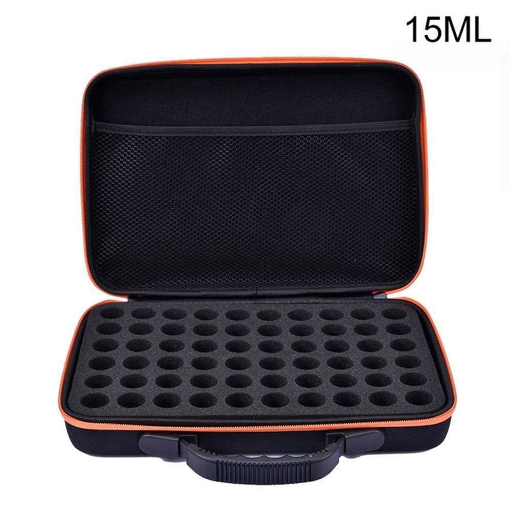 Desirepath 60 Grid Hand-held Essential Oil Package Essential Oil Storage Bag Anti-vibration Essential Oil Package 10/ 15ML by Desirepath
