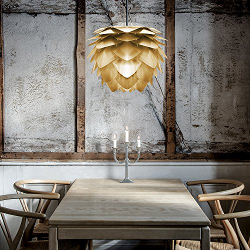 Ypperlig Vita Silvia Gold Pendant Light Shade - Limited Edition: Amazon.co IS-56