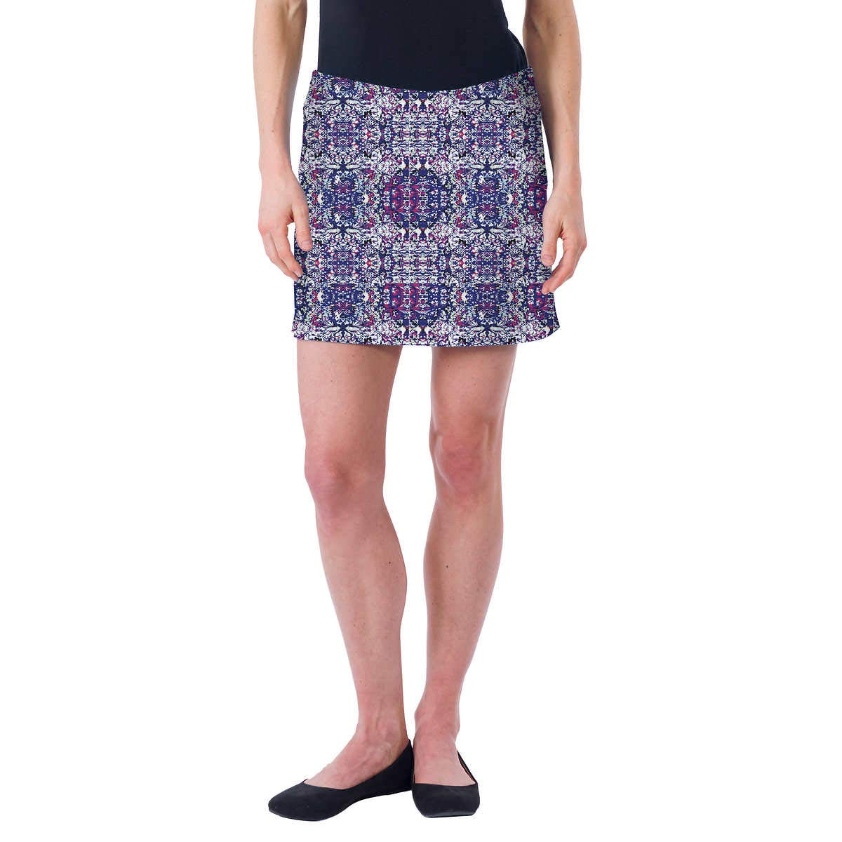 Colorado Clothing Women's Everyday Skort (Blue Tapestry, XX-Large) by Colorado Clothing