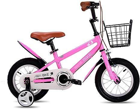 LJJL Bicicleta Infantil para Niños, Bicicleta para Niños 2-4-6-8 ...