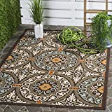 Perfect for any backyard, patio, deck or along the pool, this rug is great for outdoor use as well as any indoor use that requires an easy to maintain rug. Coordinate indoor and outdoor spaces with pretty and practical area rugs from the Vera...