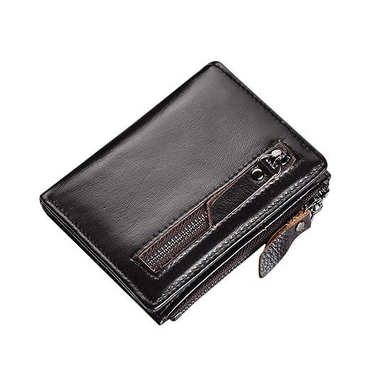 e5908f2c0dbc Amazon.com: Hattfart Slim Wallet Wallet Minimalist Thin Credit Card ...