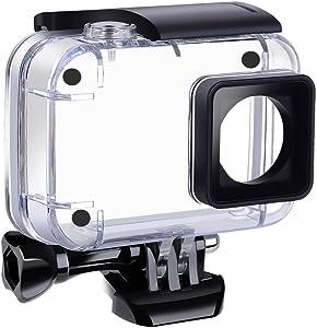 Suptig Funda impermeable subacuática impermeable carcasa protectora para Yi 4K Acción Xiaomi 4K Xiaoyi 4K Yi 4K + Yi Lite cámaras de acción