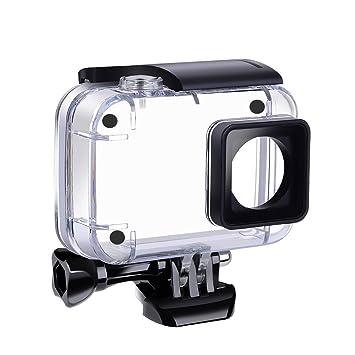 SupTig Carcasa Impermeable bajo el Agua Impermeable Caja de protección para Yi 4 K 4 K Acción Xiaomi Xiaoyi Yi 4 K 4 K + cámaras de acción