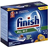 Finish Powerball Tablets, Orange Scent, 20 Count