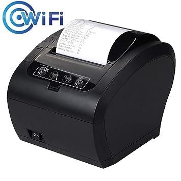 Impresora de Recibos térmicos MUNBYN de 80 mm con WiFi, con ...