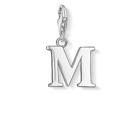 Thomas Sabo Charm pendant letter M 0187-001-12 Thomas Sabo 4xJCP1mW