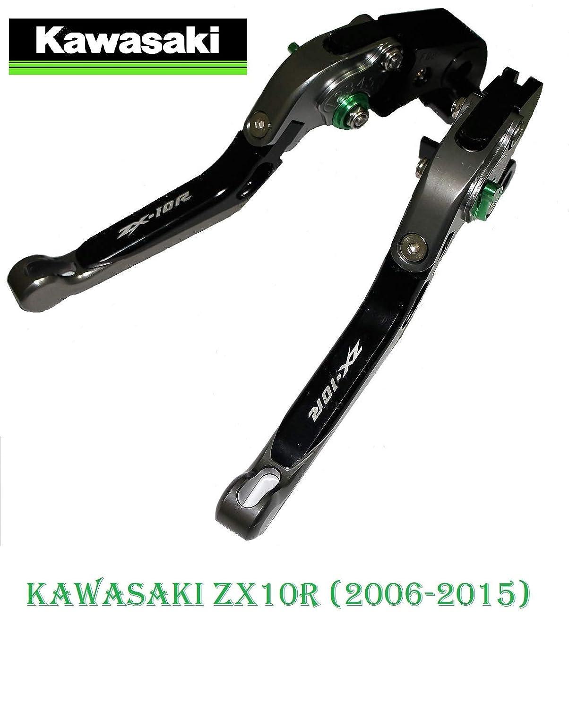 Z1000 2009-2016 corto 2011-2012 Z750R 2006-2015 ZX10R Maneta palanca de embrague y de freno regulable para KAWASAKI ZX6R 2007-2015