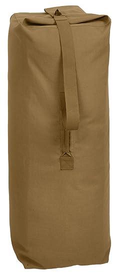 Amazon.com  Rothco Heavyweight Top Load Canvas Duffle Bag  Sports   Outdoors 4913e27125e91