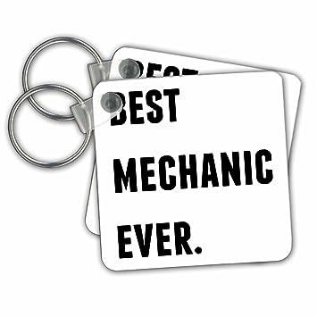 Mejor mecánico nunca, letras negras sobre fondo blanco ...