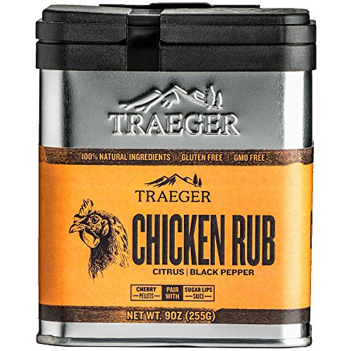 Traeger Grills SPC170 Chicken Seasoning and BBQ Rub (Best Ever Bbq Chicken)