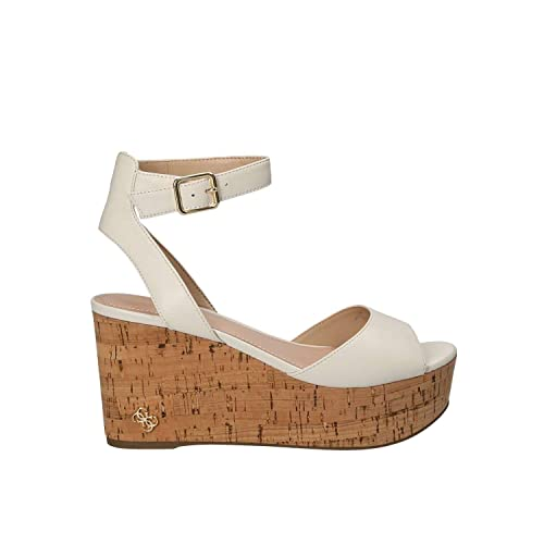 51933dc115 Guess FLNIC1 LEA03 Wedge Sandals Women White 40: Amazon.co.uk: Shoes & Bags
