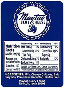 Maytag Blue Cheese (1 pound) by Gourmet-Food