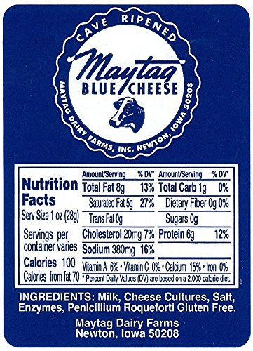 Magtag Dairy Farms, Maytag Blue Cheese (2x1 pound)
