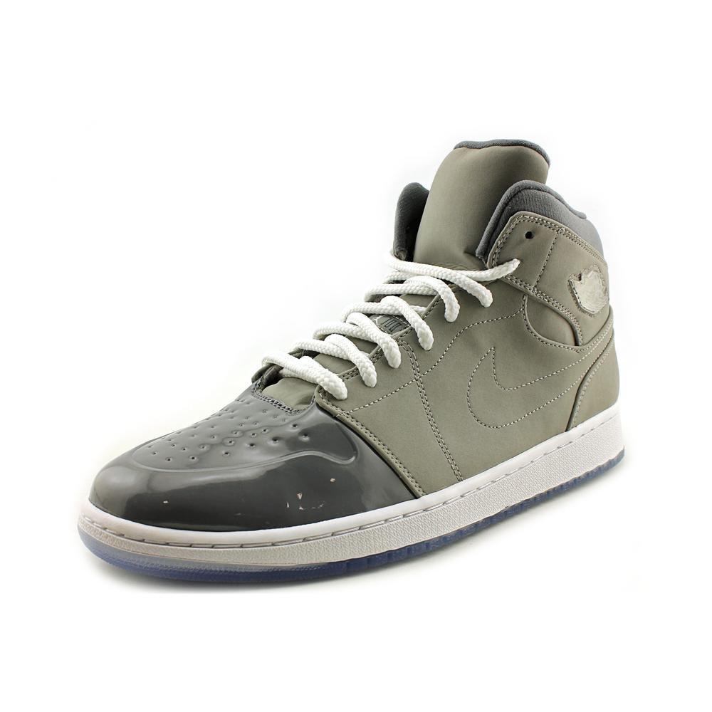 628619-003 AIR Jordan 1 Retro 95 Mens Sneakers AIR JORDANMEDIUM Gry White-Cool GREYM
